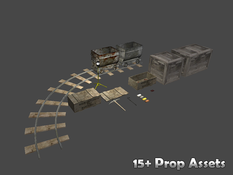 Miner's Cave Pack - Unity Asset