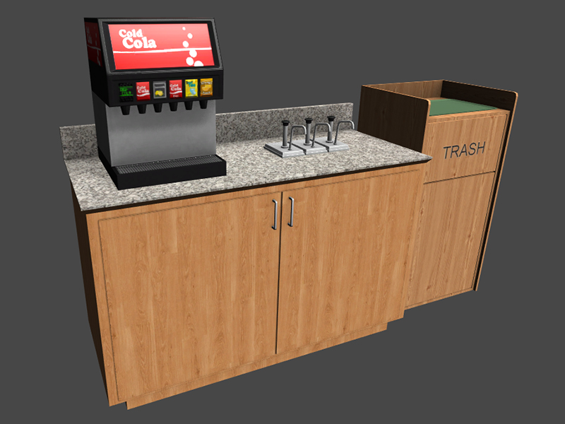 Office Cafeteria Kit - Unity Asset